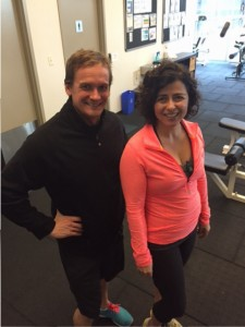 personal training client