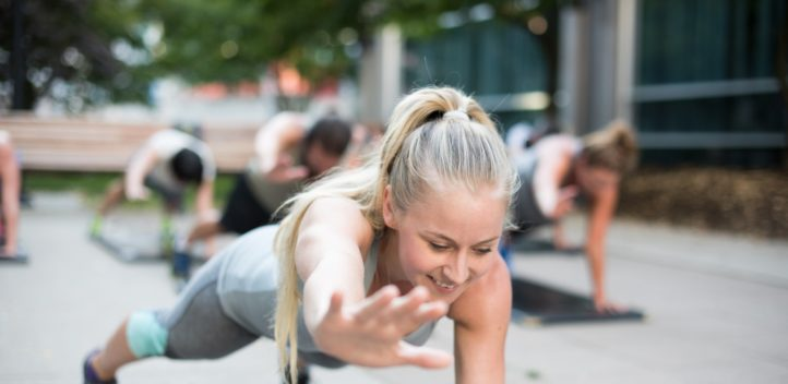 plank Bootcamp class vancouver