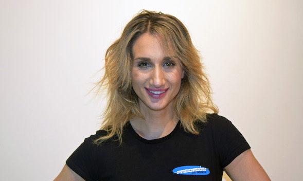 personal trainer Sarah
