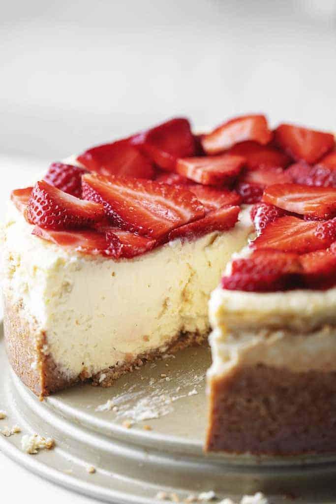 keto dessert - cheesecake