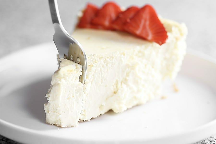 Keto dessert-cheesecake